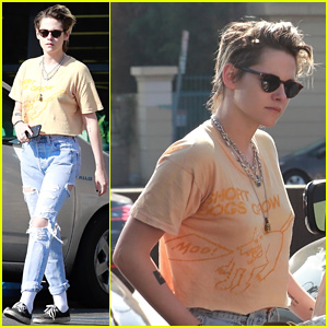 Kristen Stewart Seemingly Preps for a Party With a Friend!