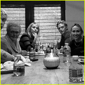 Miley Cyrus & Cody Simpson Spend Their First Thanksgiving Together