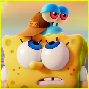 The New Trailer For 'Spongebob Movie: Sponge on The Run' Is Here!