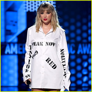 Here's How Taylor Swift Addressed Feud with Scooter Braun at AMAs 2019