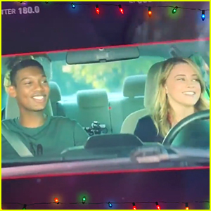 After We Collided's Josephine Langford & Shane Paul McGhie Get In The Christmas Spririt In Behind-The-Scenes Video