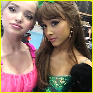 Dove Cameron Is Sharing All About This Sweet Photobomb In Her Pic with Ariana Grande