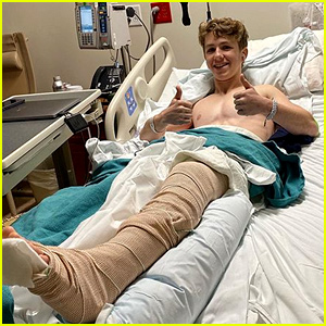 Ethan Wacker Undergoes Surgery After Breaking Leg in Two Places