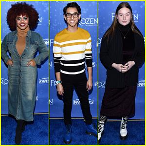 'HSMTMTS' Cast Joins More Disney Stars at 'Frozen' Musical LA Premiere!
