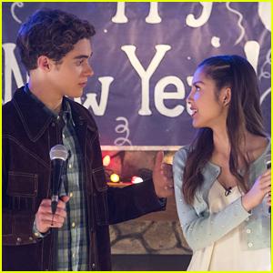 Joshua Bassett & Olivia Rodrigo Dish On Co-Writing a Song For 'High School Musical' Series