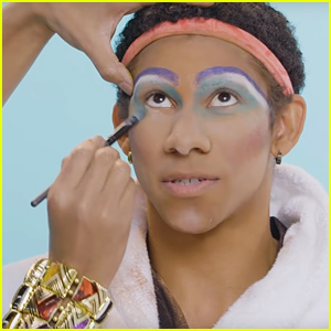 The Flash's Keiynan Lonsdale Gets First Drag Makeover (Video)