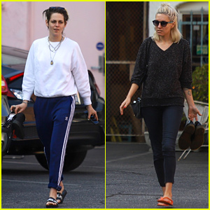 Kristen Stewart & Dylan Meyer Couple Up for Mani-Pedis!