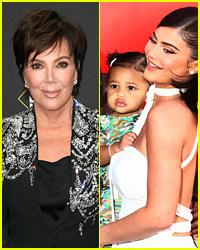 Kylie Jenner Reveals Emotional Christmas Gift Kris Jenner Got For Stormi