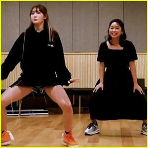 Lana Condor Shows Off Her K-Pop Dance Moves in South Korea (Video)