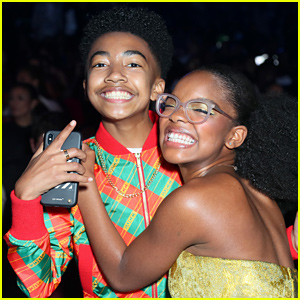 Miles Brown Gets Sweetest Birthday Tribute From 'Black-ish' Co-Star Marsai Martin