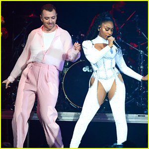 Normani Performs 'Dancing With A Stranger' Live With Sam Smith For The First Time - Watch Now!