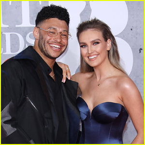 Perrie Edwards Glams Up For Series of Selfies With Boyfriend Alex Oxlade-Chamberlain