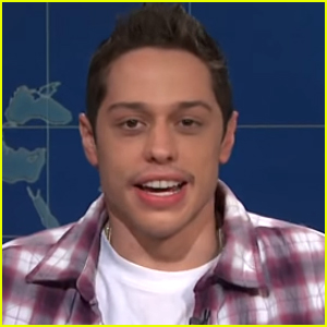 Pete Davidson Makes a Reference to Dating Kaia Gerber on 'SNL' - Watch!