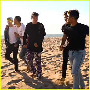 In Real Life Head To The Beach In Their New 'California Christmas' Music Video - Watch!