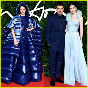 Shailene Woodley Takes Over Spotlight at Fashion Awards 2019 in Blue Puffer Dress