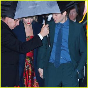 Joe Alwyn Supports Taylor Swift at 'Cats' World Premiere!