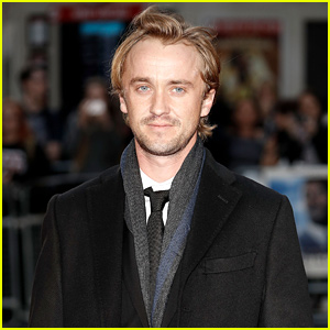 Tom Felton Reunites With Dog Willow for the Holidays in Adorable Video - Watch!