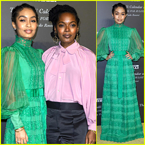 Yara Shahidi Gives Lesson On How To Body Roll at Pirelli Calendar Event