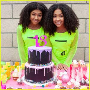 Anais & Mirabelle Lee Celebrate Their 13th Birthday!