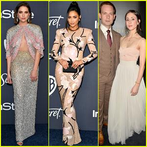 'Pretty Little Liars' Cast Reunites for Golden Globes 2020 After-Parties!