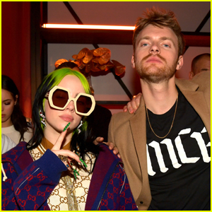 Billie Eilish & Brother Finneas Celebrate Their Wins at Universal's After-Grammys Party!