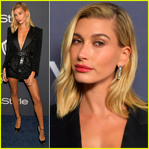 Hailey Bieber Looks Stunning at Golden Globes 2020 Party!