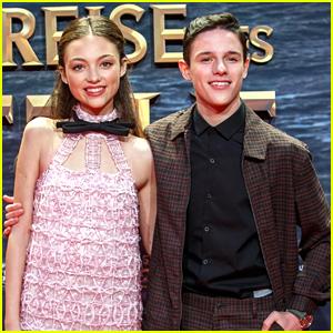 Harry Collett & Carmel Laniado Premiere New Movie 'Dolittle' In Berlin