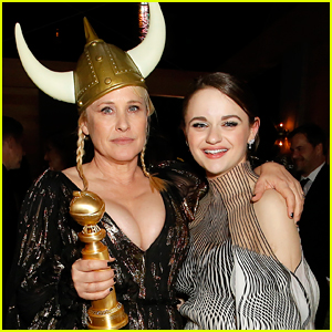 Joey King Got Hit In The Head With Patricia Arquette's Golden Globes Award!