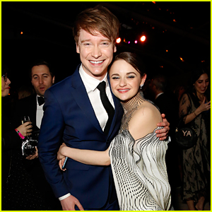 Calum Worthy Reunites with Joey King at Hulu's Golden Globes After Party!