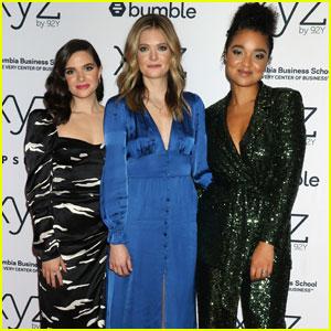 Katie Stevens Joins Meghann Fahy & Aisha Dee to Celebrate 'The Bold Type' Season 4