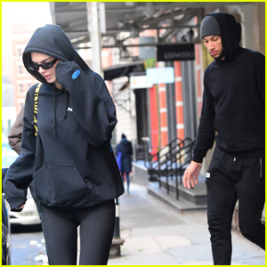 Kendall Jenner Steps Out for Lunch with On-Again Boyfriend Ben Simmons
