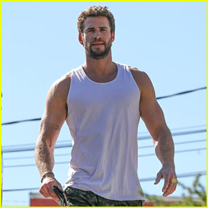 Liam Hemsworth Puts His Muscles On Display After Hitting the Gym!