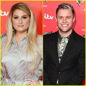 Meghan Trainor & Olly Murs Perform Duet Mashup Of Their Songs 'Dear Future Husband' & 'Dance With Me Tonight'