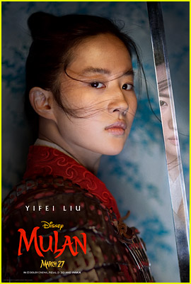 Yifei Liu Stars as Mulan in New Character Poster for Live-Action Remake!