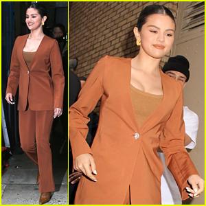 Selena Gomez Promotes Her Album 'Rare' in NYC!