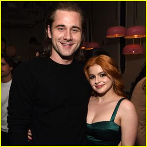 Ariel Winter Couples Up With Boyfriend Luke Benward at 'Burden' Screening