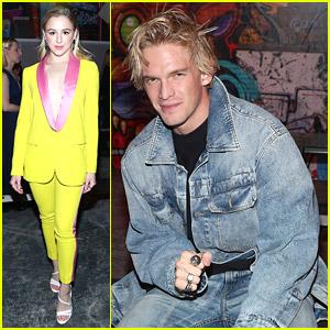 Chloe Lukasiak & Cody Simpson Check Out e1972 Fashion Show During New York Fashion Week