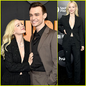Dove Cameron Looks So in Love with Thomas Doherty at 'High Fidelity' Premiere!