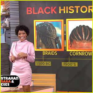 Keke Palmer Gives History Lesson On Black Hair For Black History Month
