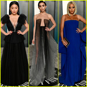 Lana Condor, Rowan Blanchard & Amandla Stenberg Look Stunning at Oscars Party 2020