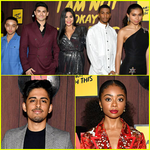 'On My Block' Cast & More Netlflix Stars Support 'I Am Not Okay With This' Cast at Series Premiere