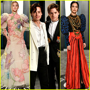 'Riverdale' Cast Steps Out for Oscars After Party!
