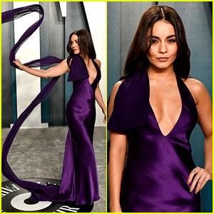 Vanessa Hudgens Cut Her Hair Just for the Vanity Fair Oscar Party 2020