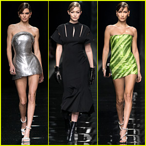Versace's Milan Show Had So Many of Our Favorite Models on the Runway!