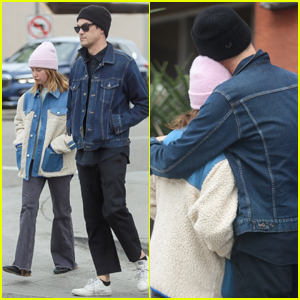 Ashley Tisdale Cozies Up to Hubby Christopher French While Running Errands