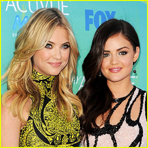 Did You Know Lucy Hale & Ashley Benson Actually Met on MySpace Through a Big Time Rush Guy??