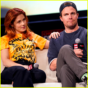 Emily Bett Rickards & Stephen Amell Talk 'Arrow's Series Finale at C2E2