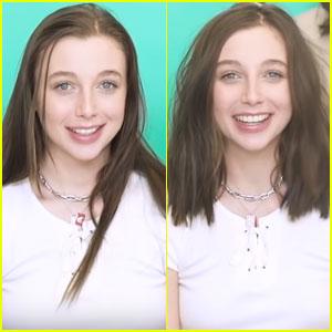 Emma Chamberlain Debuts Short New Haircut - Watch!