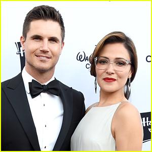Italia Ricci & Robbie Amell Make Mini 'Mission Impossible' Movie Starring Their Son