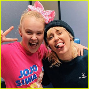 JoJo Siwa Finally Meets Her 'Inspiration' Miley Cyrus: 'I Had the Best Conversation of My Life'